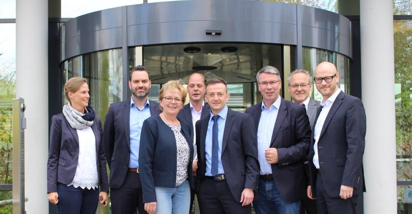 Ambrosia mit Mitgliedern des Landtages NRW
